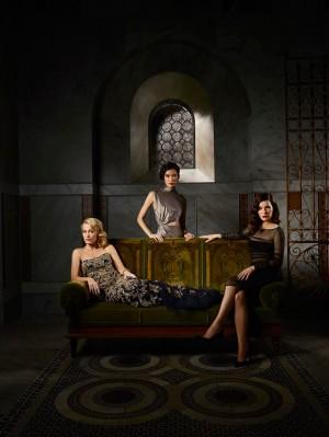 Hannibal manipulated Alana last season, and she will enjoy manipulating another psychopath, Mason Verger, this season