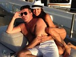 EXCLUSIVE: Simon Cowell jets off on month-long break to St Tropez with friends to escape furore of married pregnant lover