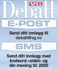 VG Debatt kommenterer