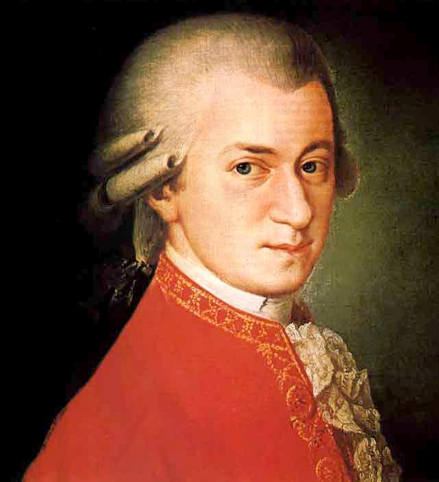 Mozart musique effet