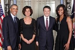 Renzi e i premier alla Casa Bianca