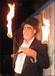 Doc Swan performs at Field of Screams at JetBlue Park in Fort Myers. COURTESY PHOTO