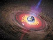 Земля находится внутри черной дыры с выходом в белую. Фото с сайта topnews.ru