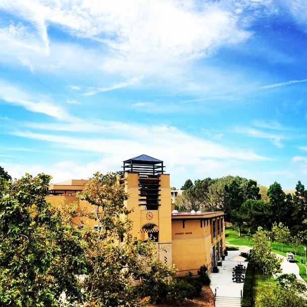 UC Irvine Student Center (photo from UC Irvine Instagram: http://instagram.com/ucirvine)