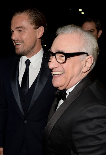 dicaprio scorsese front Wolf of Wall Street Misses Mark as Study in Social Pathology