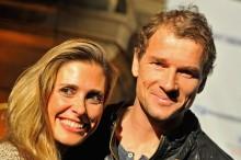 Jens Lehmann mit seiner Frau Cornelia