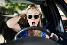 Getting stressed out in the car can have a toll on mental health a decade later.Photo / Thinkstock
