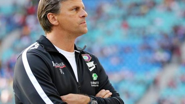Aues Trainer Götz setzt vor Düsseldorf-Spiel auf Psychologie. Trainer des FC Erzgebirge Aue Falko Götz