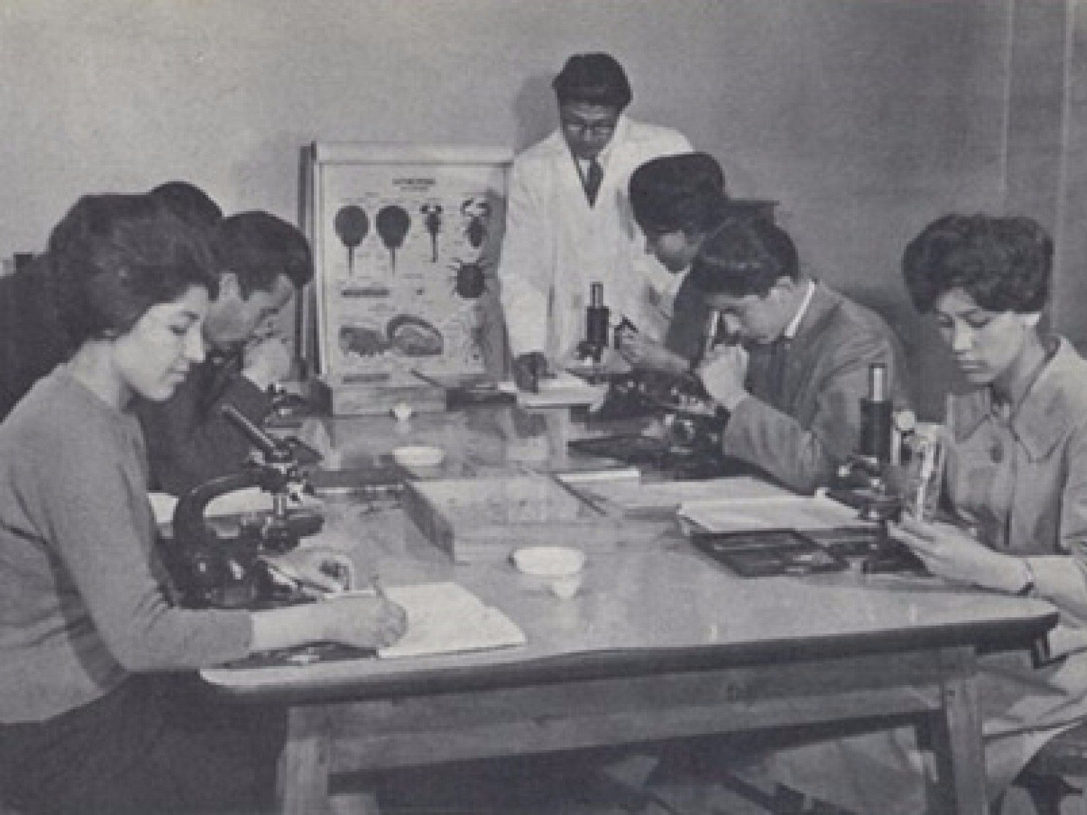 old school scientists